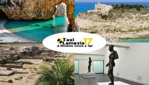 Turismo in Calabria: taxi, il miglior mezzo di trasporto